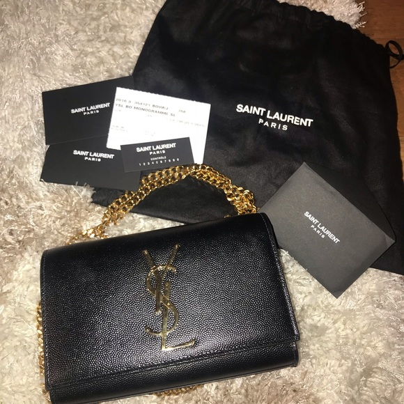 6247374fe55 Yves Saint Laurent Bags | Barely Used Ysl Small Kate Chain Crossbody ...